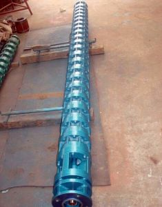 Subaqueous 5 Stage Deep Well Submersible Pump pictures & photos