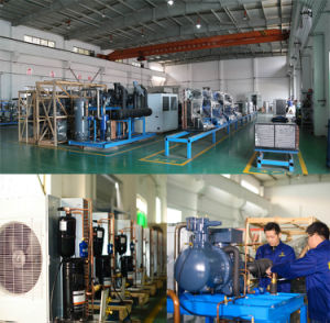 Water-Cooled Semi-Hermetic Condensing Unit for Commercial Application pictures & photos