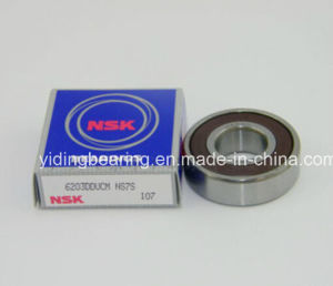 NSK Red Rubber Sealed Bearing 6203 DDU for Fan Bearing Motor Bearing pictures & photos