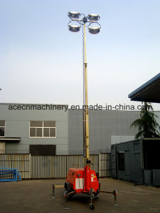 Diesel Mobile Light Tower 9m 4000W