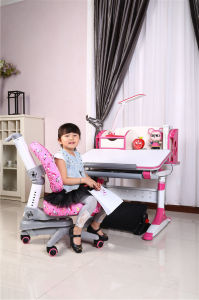 Little Girls Eco-Friendly E1 MDF Study Table Children Table pictures & photos