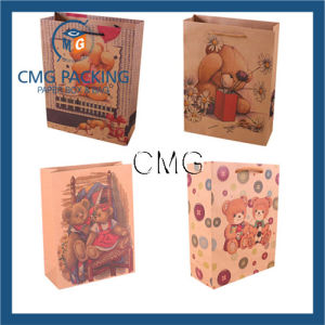 Cartoon Bear Design Paper Gift Bag Packaging Paper Bag pictures & photos