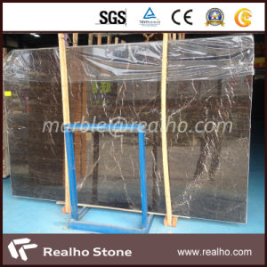 Polished Black Portoro Marble Slab for Building Decoration pictures & photos
