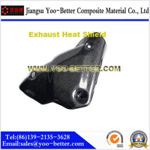 Carbon Fiber Motorcycle Parts for Exhaust Heat Shield