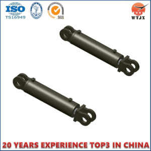 Double Acting Hydraulic Cylinder with Clevis for Agricultural Machinery Cylinder pictures & photos