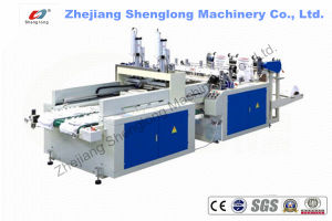 Full Automatic High Speed T-Shirt Bag Making Machine (SL-350X2/450X2) pictures & photos