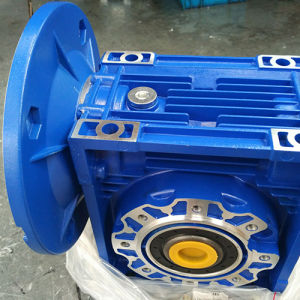 Aluminium Worm Gearbox Machine High Quality Nmrv40-100-71b14 Gearbox Input Flange 71b14 Gear Box pictures & photos