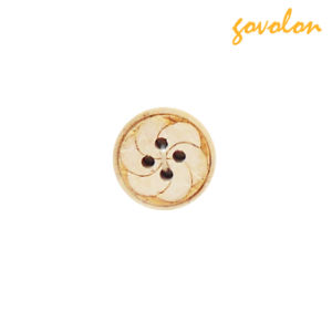4 Holes Round Wooden Button (SGS Approved) pictures & photos