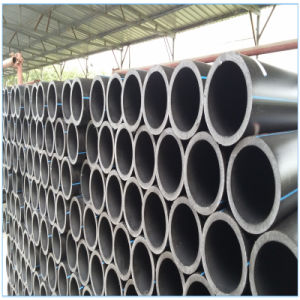 PE100 HDPE Pipe Plastic Water Distribute Pipe in Building pictures & photos