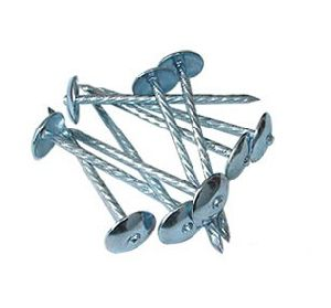 Umbrella Head Screw Shank Galvanized Roofling Nails