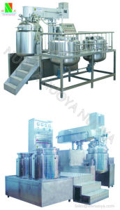 Cream Ointment Skin Care Products Vacuum Emulsifying Mixer Machine pictures & photos