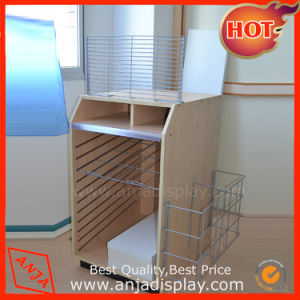 Wooden Display Rack with Wire Holder pictures & photos