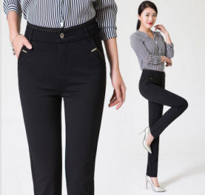 Women′s Pants Spring and Autumn Casual Trousers pictures & photos