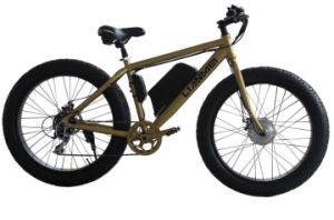 Electric Fat Bikes 26inch pictures & photos