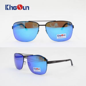 2016 New Cool Sunglasses Square Shape Stainless Steel Sunglasses Polarized for Men Women Ks1111 pictures & photos