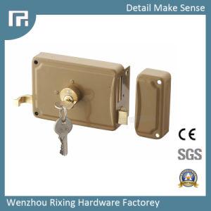 Mechanical Door Rim Lock (157A) pictures & photos