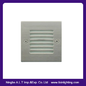 IP54 Aluminum LED Step Light, LED Recessed Wall Light, Stair Light pictures & photos