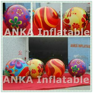 Customized Printed Flower Inflatable Balloon Sphere for Event pictures & photos