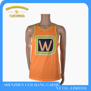 Custom Running Singlets Popular Gym Singlets Tank Top for Men pictures & photos
