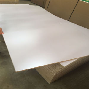 Melamine Paper Overlaid Laminated Shuttering Eco-Friendly Plywood pictures & photos