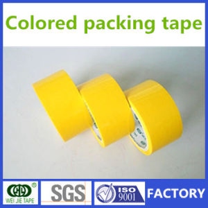 Colored Tape for Packing and Wrapping Use Yellow Tape pictures & photos