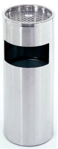 Metal Waste Bin for Bank with Cheapest Price pictures & photos