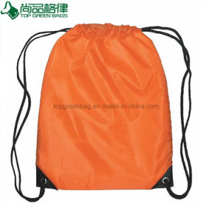 Personalized Promotional Custom 210d Nylon Sports Drawstring Back Pack pictures & photos