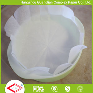 "OEM 8"" Siliconised Parhment Paper Rounds Baking Cake Tin Liners pictures & photos"