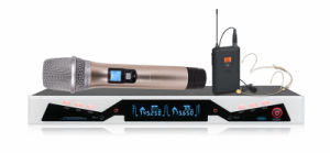 200 Selectable UHF Frequency Wireless Microphone GS-268 pictures & photos