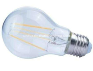 8W 1000lm E27 LED Filament LED Bulb with CE RoHS Aproved