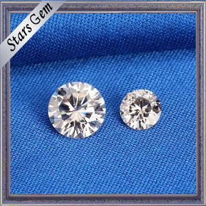 Top Quality Round 6.5mm Vvs Best Sparkling Moissanite Diamond pictures & photos