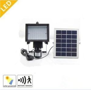 5W Solar LED Flood Lights with Motion Sensor for Garden/Street