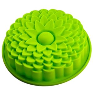 "9"" Sunflower Bread Pie Flan Tart Silicone Mould pictures & photos"