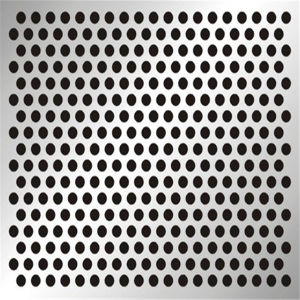 Sparkly Stainless Steel Pattern Metal Perforated Sheet pictures & photos
