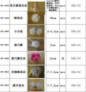 2014 Wholesale 9cm Diameter Natural Sola Flower pictures & photos