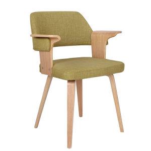 Coffee Dining Restaurant Wooden Bar Chairs for Food Court (FS-WB1691) pictures & photos