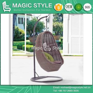 High Quality Garden Swing Best Price Rattan Hammock with Cushion (Magic Style) pictures & photos