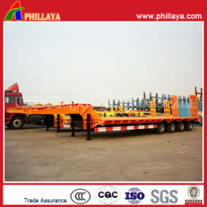 4 Axle Low Loader Semi Trailers with Fuwa Axles pictures & photos