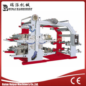 4 Color Plastic Film/Paper Flexographic Printing Machine pictures & photos