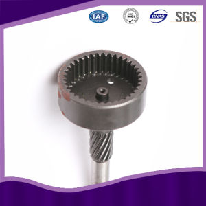 Customized Stainless Steel Transmission Spline Gear Drive Shaft pictures & photos