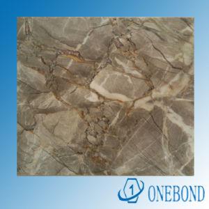 Beautiful Marble Grain Aluminum Honeycomb Panel pictures & photos