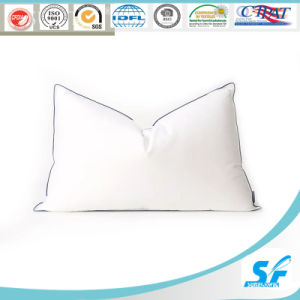 2016 Luxury Five-Star Hotel 85% Whit Goose Down Pillow pictures & photos