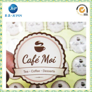 2016 Customised Most Demand Cheese Cake Box Packing Sticker, Seal Sticker for Cake Box (JP-S151) pictures & photos