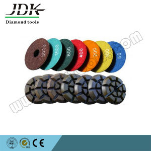 100mm Diamond Wet Floor Polishing Pads for Granite, Grit 50-3000 pictures & photos