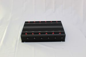 New Adjustable 12 Antenna Signal Jammer with Safe Case; 2g+3G+2.4G+4G+GPS+Remote Control Signal Jammer; Mobile Phone Signal Isolator pictures & photos