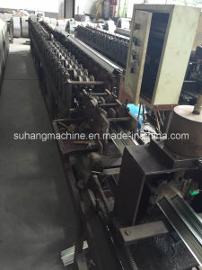Newest Arrival 7.5kw Air Conditioning Guide Plate Roll Forming Machinery pictures & photos