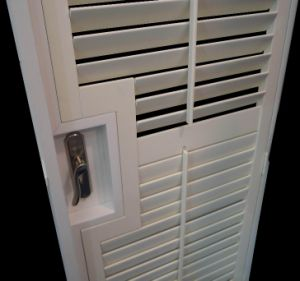 basswood bifold indoor window shutters for french doors 64mm louver