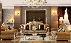 Pinyang Living European Antique Castle Style Exquisite Sofa pictures & photos