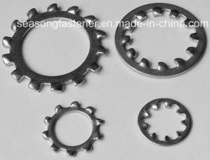 Stainless Steel Lock Washer / Tooth Washer (DIN6797) pictures & photos