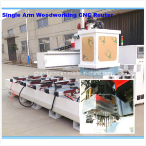 5 Axis Woodworking CNC Router Machine Center for Production of Furniture, Doors, Windows pictures & photos